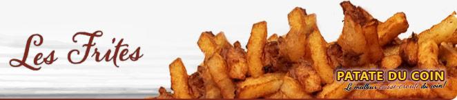 LA PATATE DU COIN – Les frites