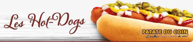 LA PATATE DU COIN – Les Hot-Dogs