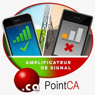 Amplificateur de signal pour téléphone mobile – PointCA Télécom