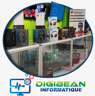 Boutique d'ordinateur Digibean Informatique Lachine