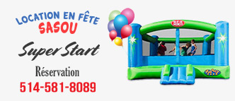 Jeux gonflable Super Start – Location en Fête Sasou