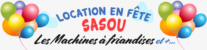Location de Machine à friandises – Laval Sasou