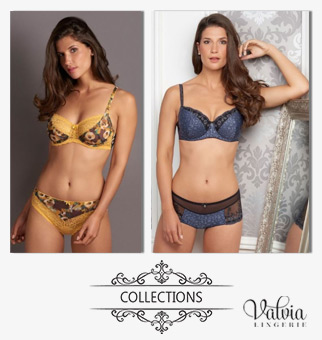 Les collections de lingerie fine